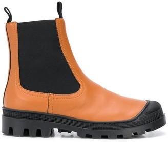 Loewe Chelsea chunky heel boots
