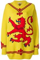 Christopher Kane lion knit jumper