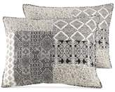 Jessica Simpson Ebony & Ivory Cotton Quilted Standard Sham