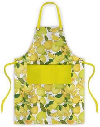 Ambrosia Lemon Cotton Apron 70 x 80cm