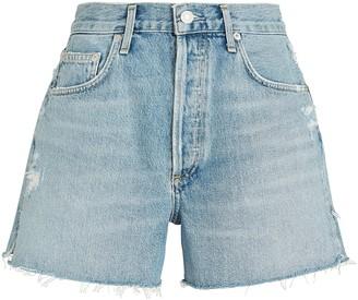 AGOLDE Dee High-Rise Denim Shorts