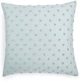 "Calvin Klein Home Tinted Wake Raised Dot 18"" Square Decorative Pillow"