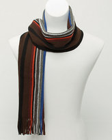 Le Château Stripe Wool Blend Scarf