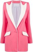 Hebe Studio colour-block fitted blazer