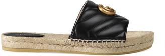 Gucci Leather espadrille sandal