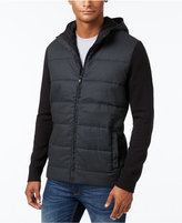 Alfani Men's Multi-Textured Hooded Jacket, Only at Macy's