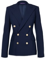 Ralph Lauren Iconic Style Camden Double-Breasted Wool Jacket