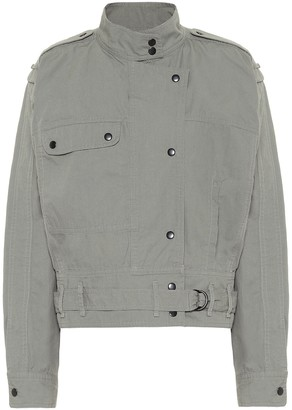 Etoile Isabel Marant Zonca cropped cotton jacket