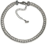 ABS by Allen Schwartz Pavé Choker Necklace, 12""