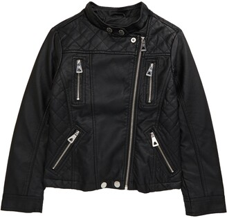Urban Republic Faux Leather Moto Jacket