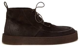 Marsèll Cassapara Suede Desert Boots - Mens - Dark Brown