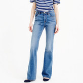 J.Crew Tall flare jean in Parkmount wash