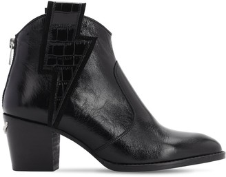 Zadig & Voltaire 60mm Molly Flash Leather Ankle Boots