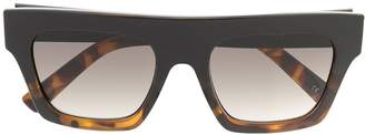 Le Specs Subdimension flat-top sunglasses