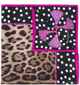 Dolce & Gabbana polka dot scarf - women - Silk - One Size