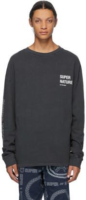Ksubi Grey Super Nature Long Sleeve T-Shirt