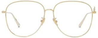 Christian Dior DiorSignature 57MM Aviator Optical Glasses