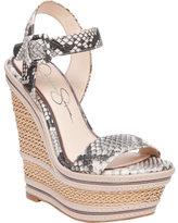 Jessica Simpson Women's Ayala Platform Wedge Sandal