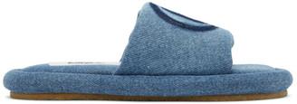 MM6 MAISON MARGIELA Blue Denim 6 Sandals