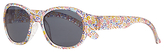John Lewis Children's Ciara Floral Oversized Sunglasses, Multi