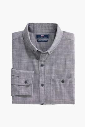 Vineyard Vines Chambray Slim Longshore Shirt