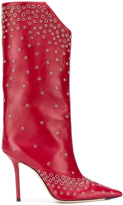 Jimmy Choo Bryndis 100 studded boots