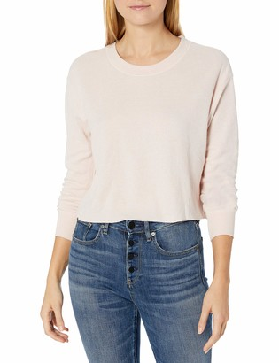 Alternative Women's Thermal ls Cropped tee