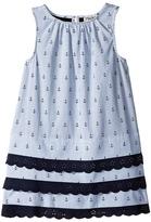 Hatley Nautical Lace Dress (Toddler/Little Kids/Big Kids)