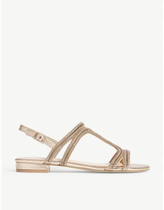 Aldo Asiliria rhinestone slingback sandals
