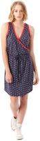 Alternative Waist Tie Printed Eco-Jersey Mini Dress