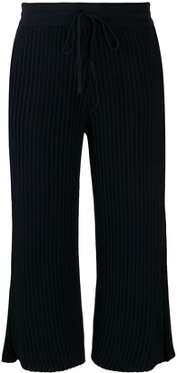 Falke Ribbed Cropped Trousers