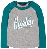 Hurley Boys 4-7 High-Low Raglan Tee