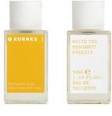 Korres White Tea, Bergamot & Freesia Eau De Toilette Spray 50ml