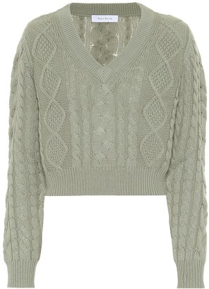 Roche Ryan Cashmere cable-knit sweater