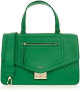 Furla Alice Emerald Green Medium Shoulder Bag