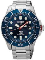 Seiko Sne435p1 Prospex Padi Date Bracelet Strap Watch, Silver/blue
