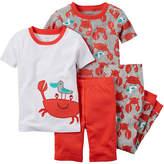 Carter's Crab 4-pc. Pajama Set - Toddler Boys 2t-5t