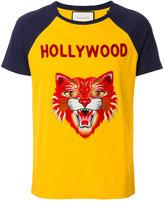 Gucci Angry Cat print T-shirt