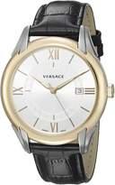 Versace Men's V10040015 APOLLO Analog Display Swiss Quartz Black Watch