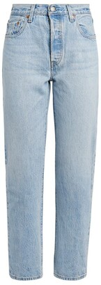 Levi's Original Straight Cropped Jeans