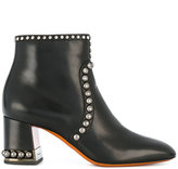 Santoni studded boots - women - Calf Leather/Leather/rubber - 36