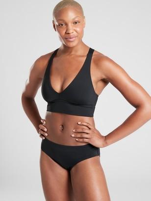 Athleta A-C Longline Plunge Bikini Top