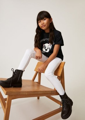 MANGO 101 Dalmatians organic cotton T-shirt