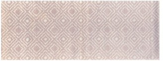 Pottery Barn Caity Indoor/Outdoor Washable Mat - Light Pink