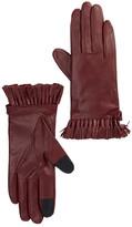 Rebecca Minkoff Genuine Goat Leather Mini Tassel Gloves