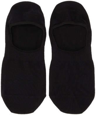 BOSS Two-Pack Black Shoeliner Socks