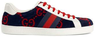Gucci Ace GG Terry Cloth Sneaker