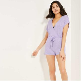 Joe Fresh Women's Romper Cover-Up, Lilac (Size M)