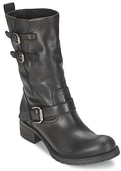 JFK GUANTP women's Mid Boots in Black