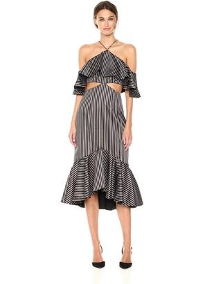 AMUR Women's Agnes Striped Dress